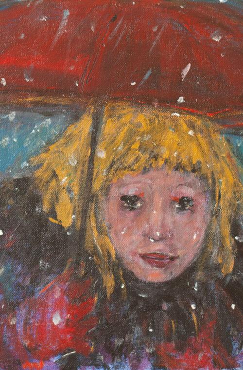 Nur Esen - Kırmızı Şemsiyeli Kız