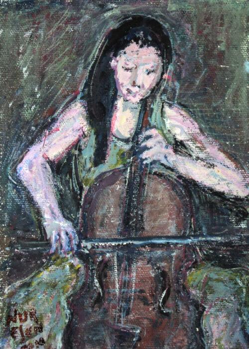 Nur Esen - Yeşil Elbiseli Çellocu Kız