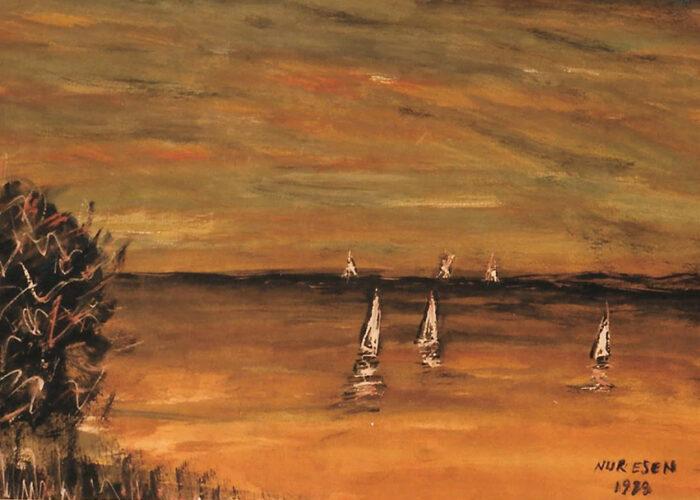 Nur Esen - Denizde Akşam